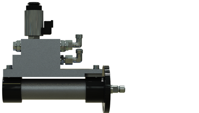 Hydraulic Cylinder With Valve Technology